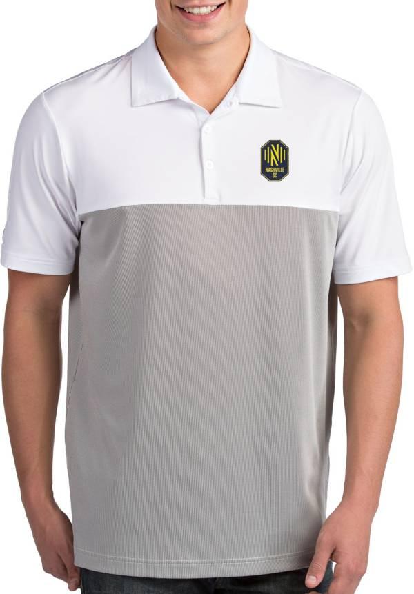 Antigua Men's Nashville SC Venture White Polo product image