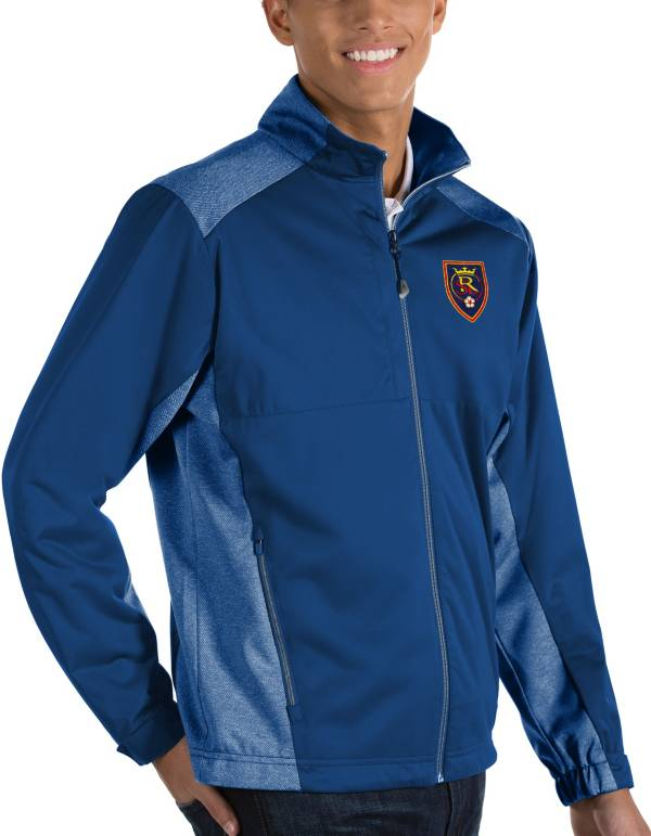 Antigua Men's Real Salt Lake Revolve Royal Full-Zip Jacket product image