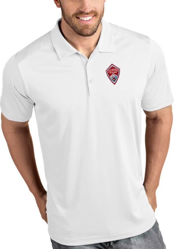 Antigua Men's Colorado Rapids Tribute White Polo product image