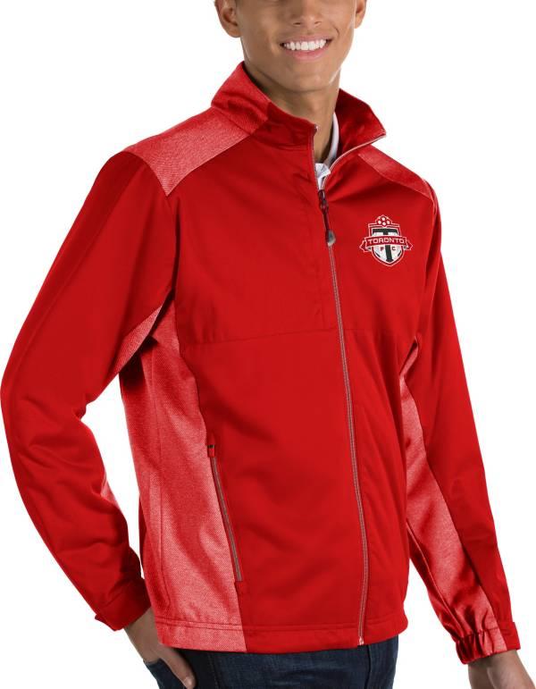 Antigua Men's Toronto FC Revolve Red Full-Zip Jacket product image