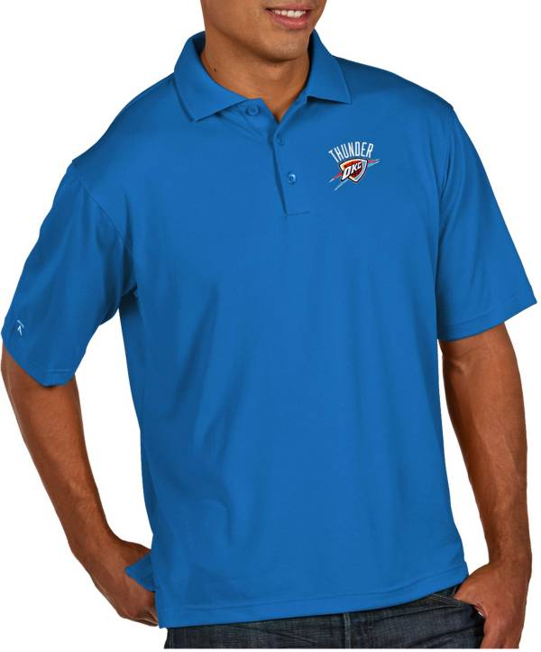 Antigua Men's Oklahoma City Thunder Xtra-Lite Pique Performance Polo product image