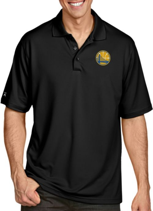 95d4e6f425464 Antigua Men s Golden State Warriors Xtra-Lite Pique Performance Polo.  noImageFound. 1