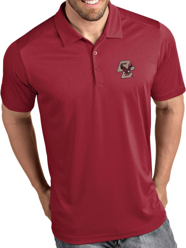 Antigua Men's Boston College Eagles Maroon Tribute Performance Polo product image