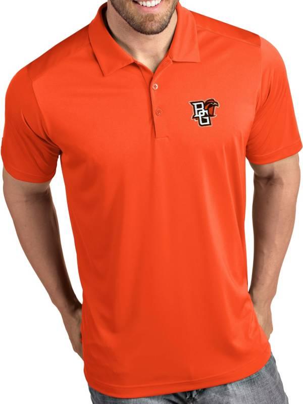 Antigua Men's Bowling Green Falcons Orange Tribute Performance Polo product image