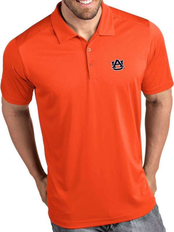 Antigua Men's Auburn Tigers Orange Tribute Performance Polo product image