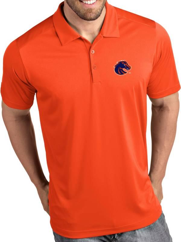 Antigua Men's Boise State Broncos Orange Tribute Performance Polo product image