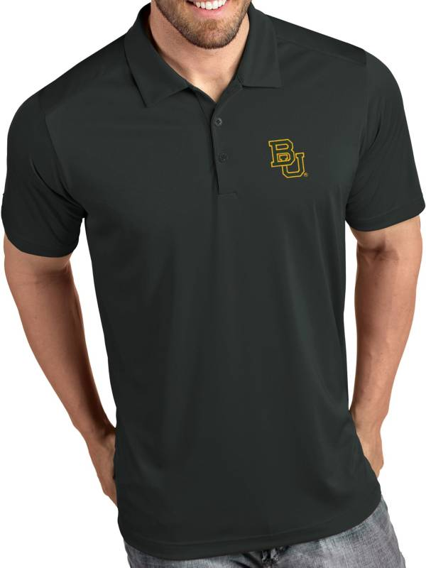 Antigua Men's Baylor Bears Grey Tribute Performance Polo product image