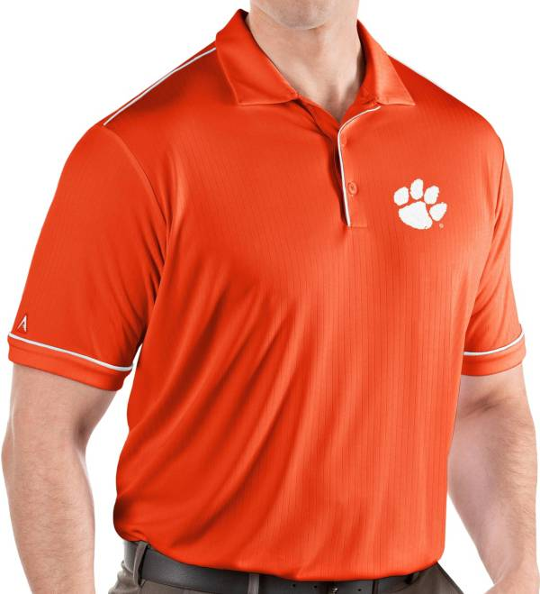 Antigua Men's Clemson Tigers Orange Salute Performance Polo product image