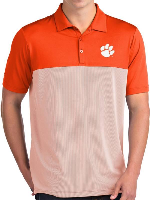 Antigua Men's Clemson Tigers Orange Venture Polo product image
