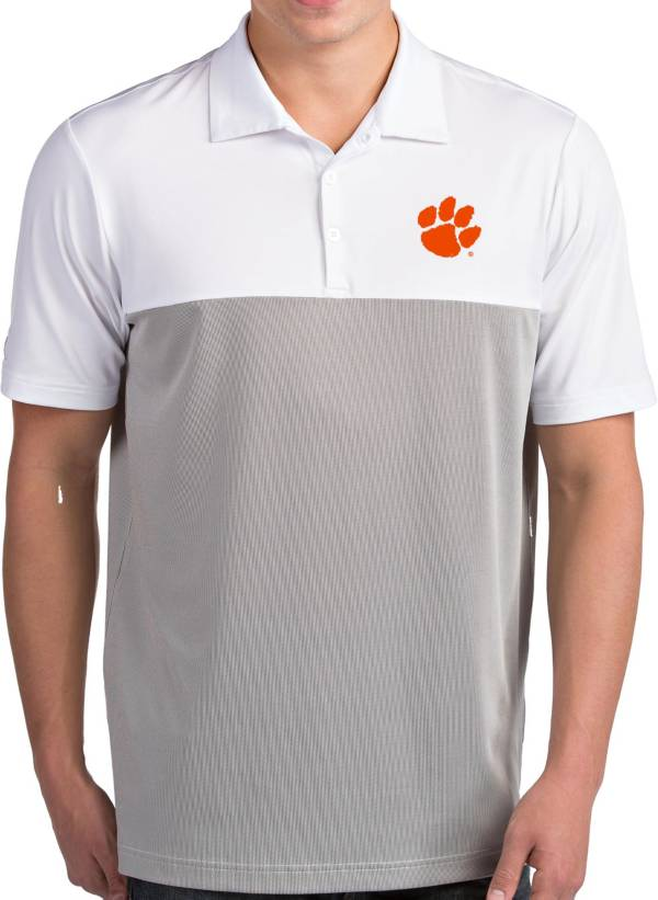 Antigua Men's Clemson Tigers Venture White Polo product image