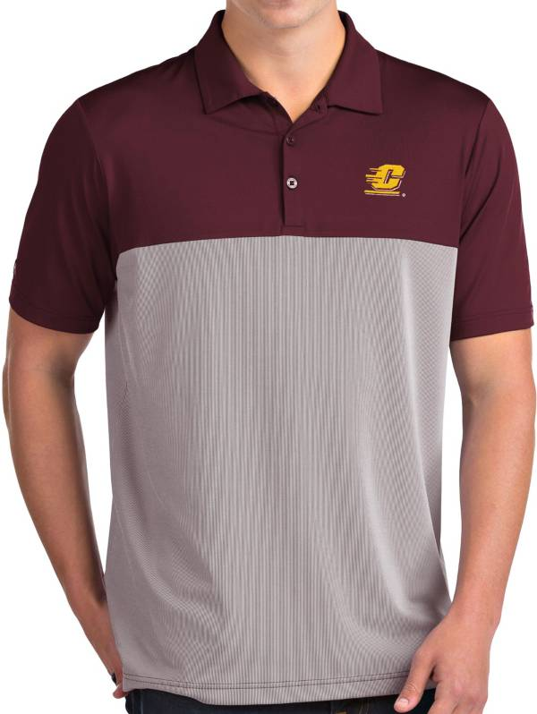 Antigua Men's Central Michigan Chippewas Maroon Venture Polo product image