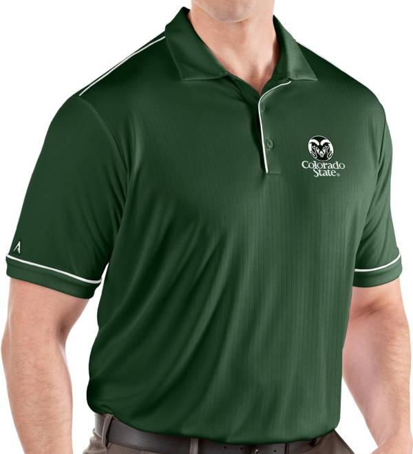Antigua Men's Colorado State Rams Green Salute Performance Polo product image