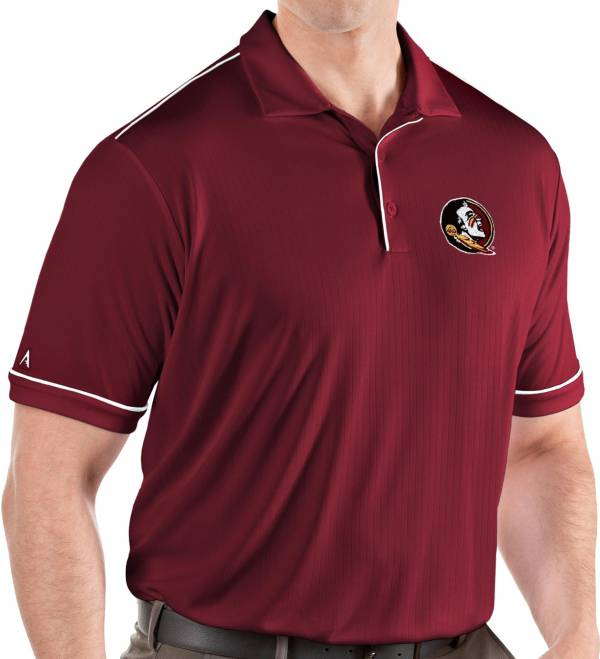 Antigua Men's Florida State Seminoles Garnet Salute Performance Polo product image