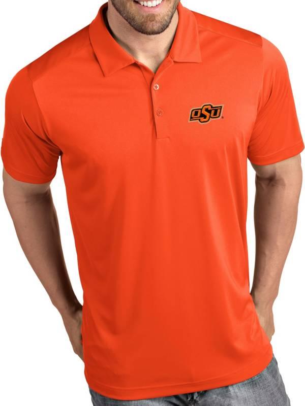 Antigua Men's Oklahoma State Cowboys Orange Tribute Performance Polo product image