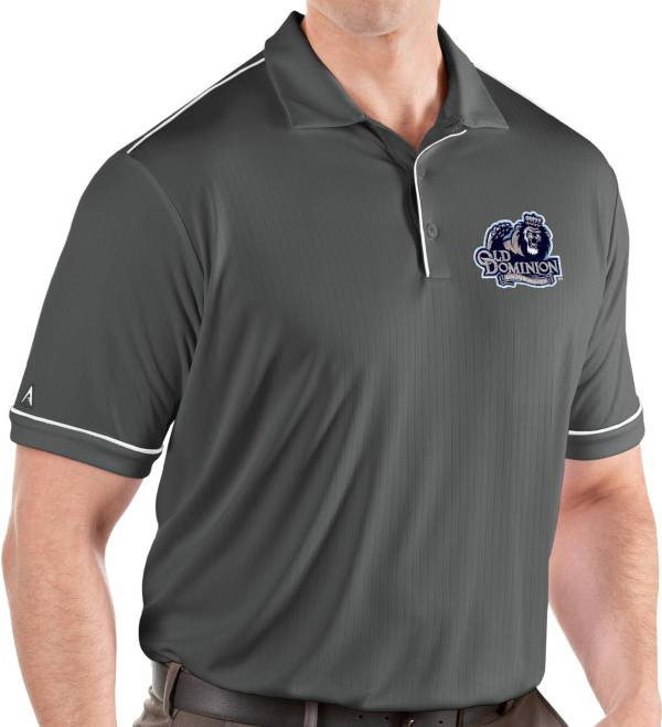 Antigua Men's Old Dominion Monarchs Grey Salute Performance Polo product image