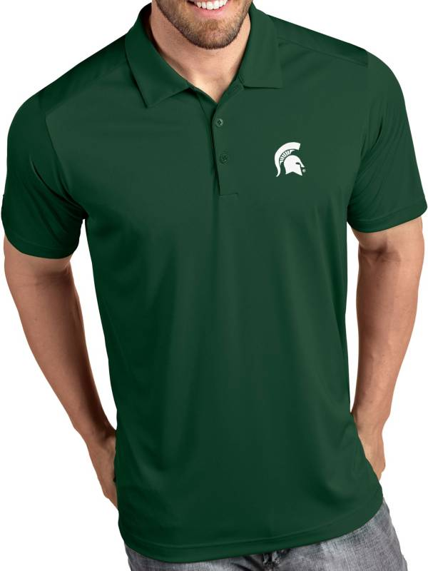 Antigua Men's Michigan State Spartans Green Tribute Performance Polo product image