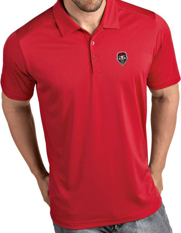 Antigua Men's New Mexico Lobos Cherry Tribute Performance Polo product image