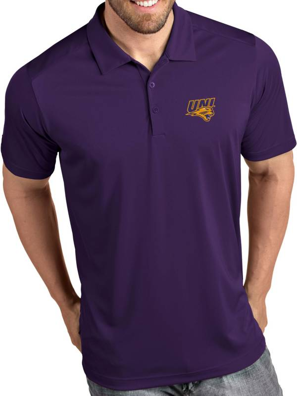Antigua Men's Northern Iowa Panthers  Purple Tribute Performance Polo product image