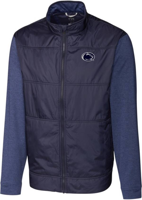 Cutter & Buck Men's Penn State Nittany Lions Blue Stealth Full-Zip Jacket product image
