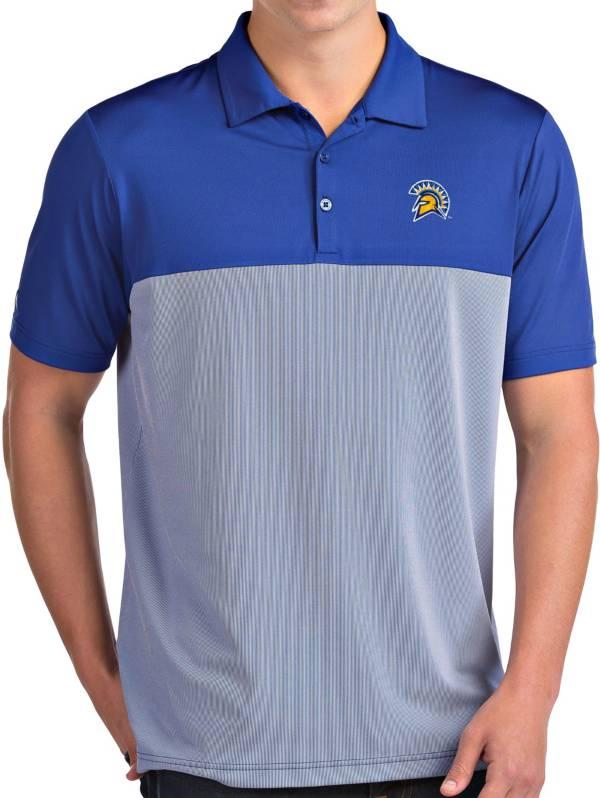 Antigua Men's San Jose State  Spartans Blue Venture Polo product image