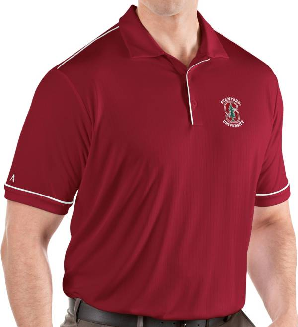 Antigua Men's Stanford Cardinal Cardinal Salute Performance Polo product image