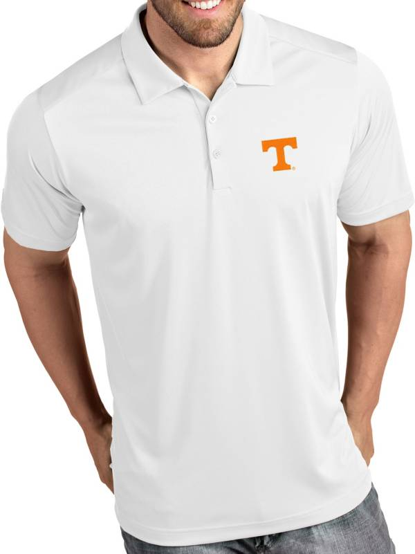 Antigua Men's Tennessee Volunteers Tribute Performance White Polo product image