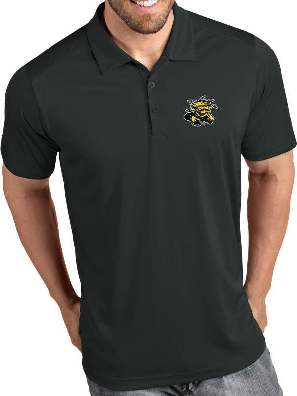 Antigua Men's Wichita State Shockers Grey Tribute Performance Polo product image