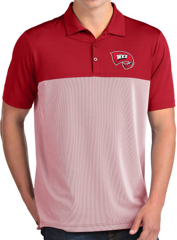 Antigua Men's Western Kentucky Hilltoppers Red Venture Polo product image