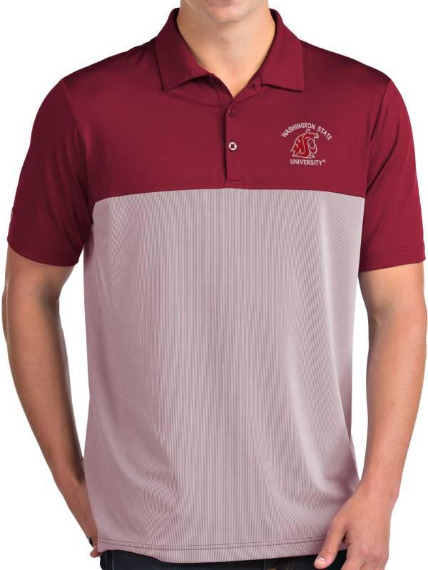 Antigua Men's Washington State Cougars Crimson Venture Polo product image