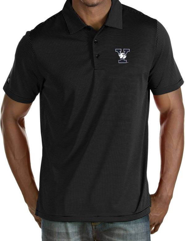 Antigua Men's Yale Bulldogs Yale Blue Quest Performance Polo product image