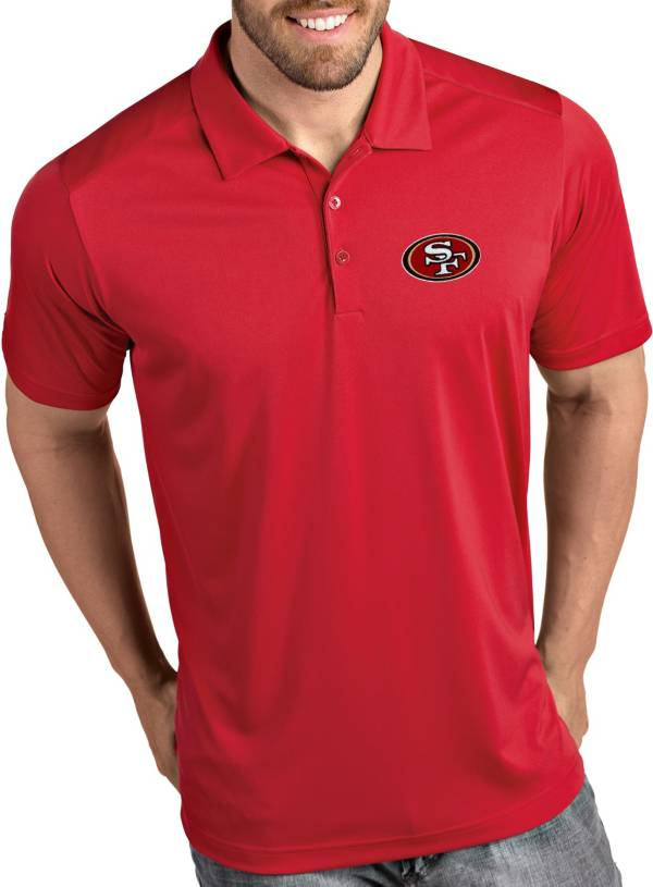 Antigua Men's San Francisco 49ers Tribute Red Polo product image