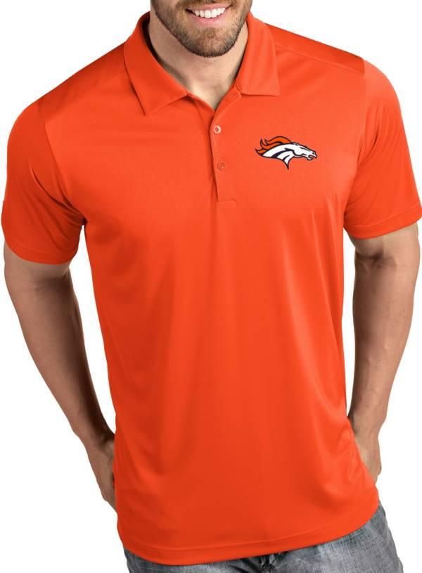 Antigua Men's Denver Broncos Tribute Orange Polo product image