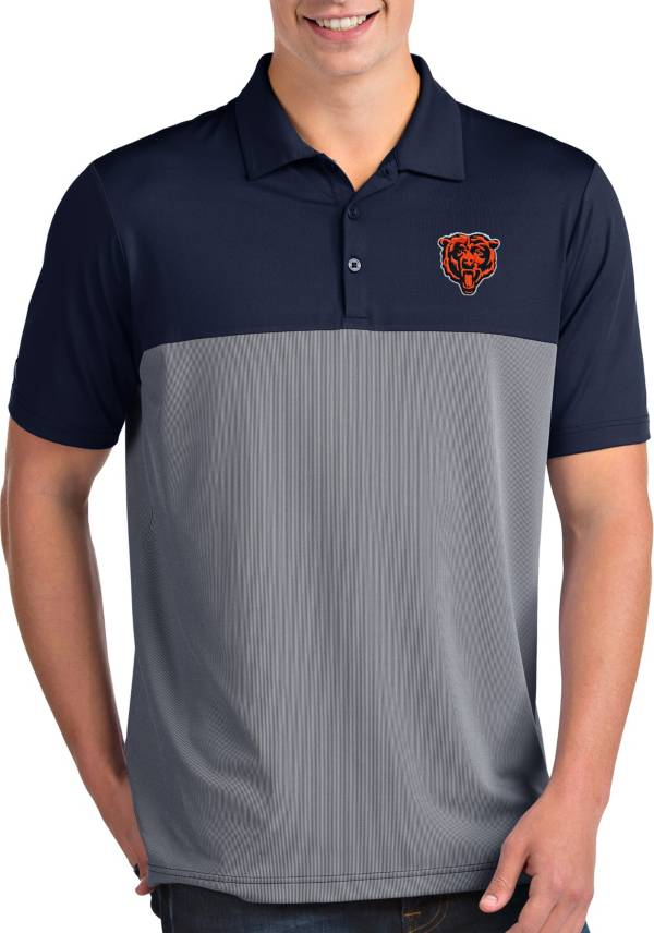 Antigua Men's Chicago Bears Venture Navy Performance Polo product image