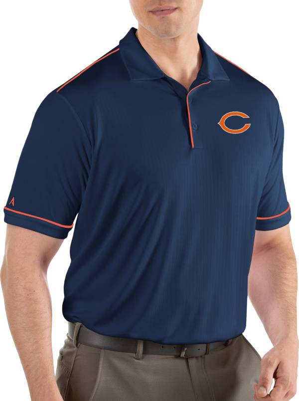 Antigua Men's Chicago Bears Salute Navy Polo product image