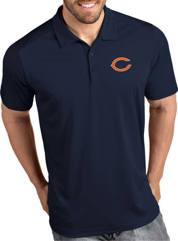 Antigua Men's Chicago Bears Tribute Navy Polo product image