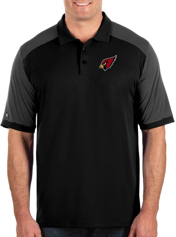 Antigua Men's Arizona Cardinals Engage Black Performance Polo product image