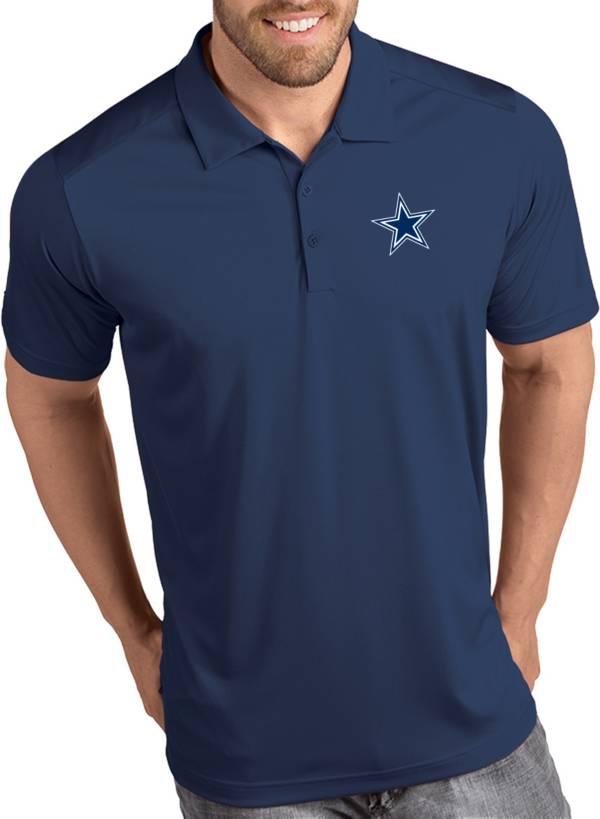 Antigua Men's Dallas Cowboys Tribute Navy Polo product image