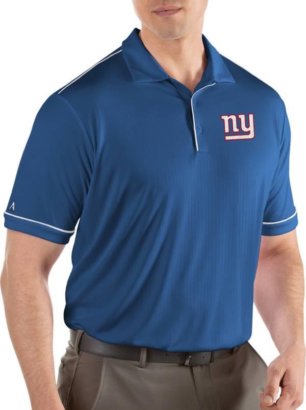 Antigua Men's New York Giants Salute Royal Polo product image