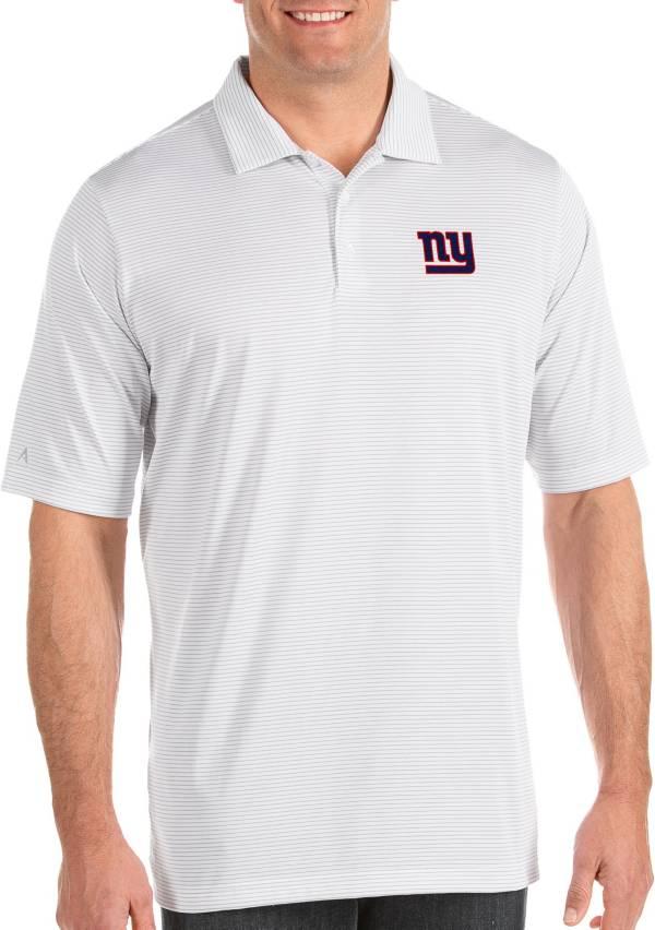 Antigua Men's New York Giants Quest White Polo product image