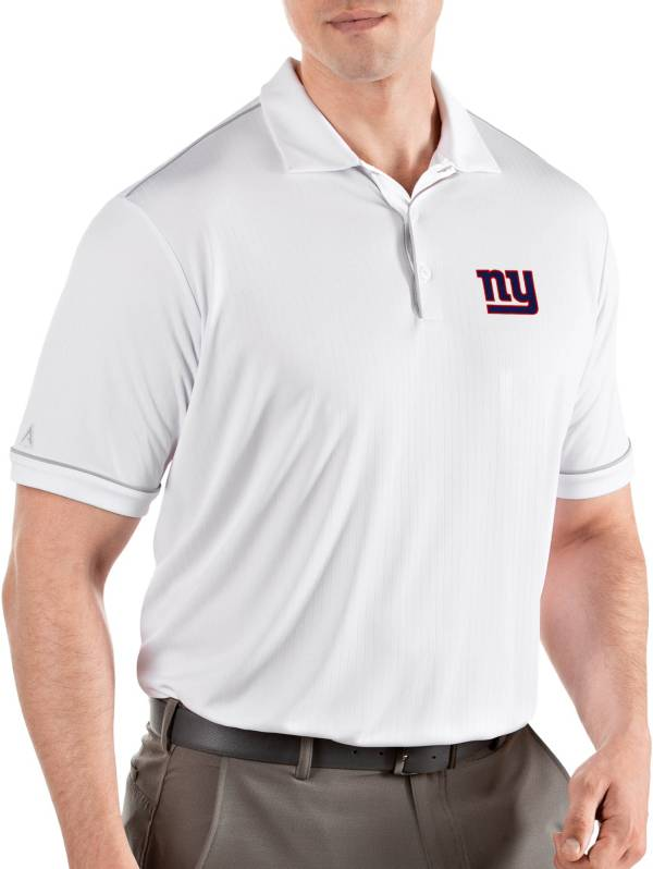 Antigua Men's New York Giants Salute White Polo product image
