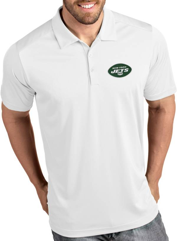 Antigua Men's New York Jets Tribute White Polo product image