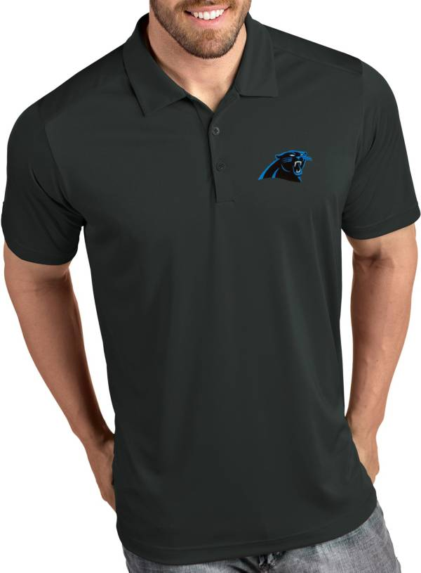 Antigua Men's Carolina Panthers Tribute Grey Polo product image