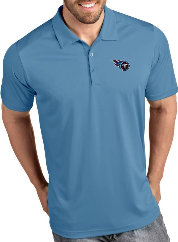Antigua Men's Tennessee Titans Tribute Blue Polo product image