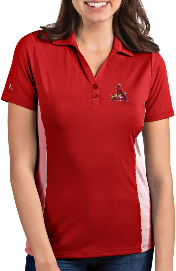 Antigua Women's St. Louis Cardinals Venture Red Performance Polo product image