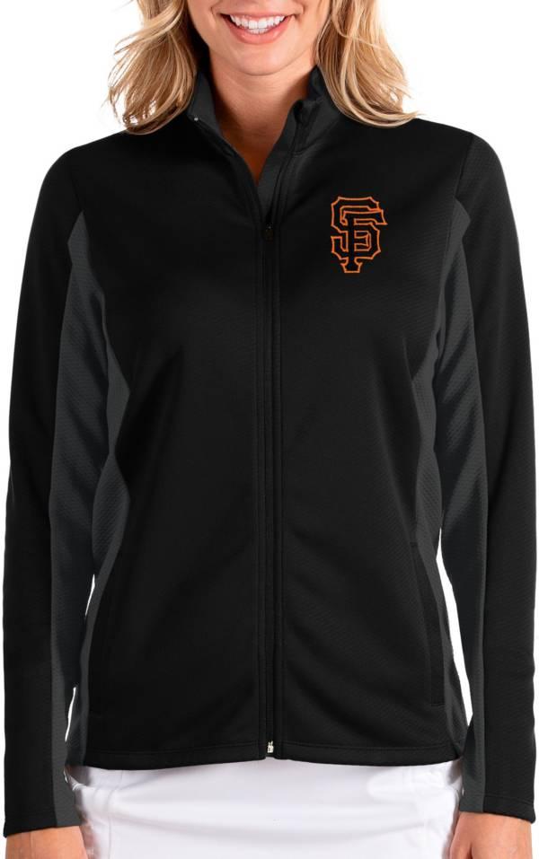 Antigua Women's San Francisco Giants Black Passage Full-Zip Jacket product image