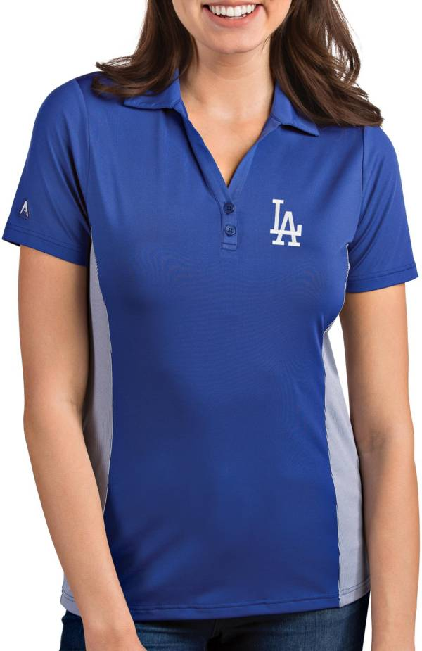 Antigua Women's Los Angeles Dodgers Venture Royal Performance Polo product image