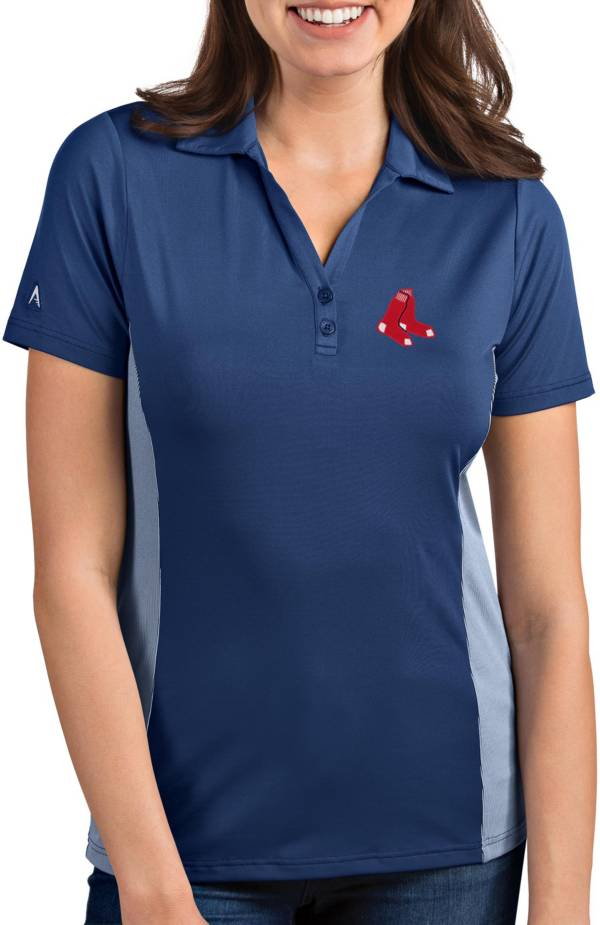 Antigua Women's Boston Red Sox Venture Navy Performance Polo product image