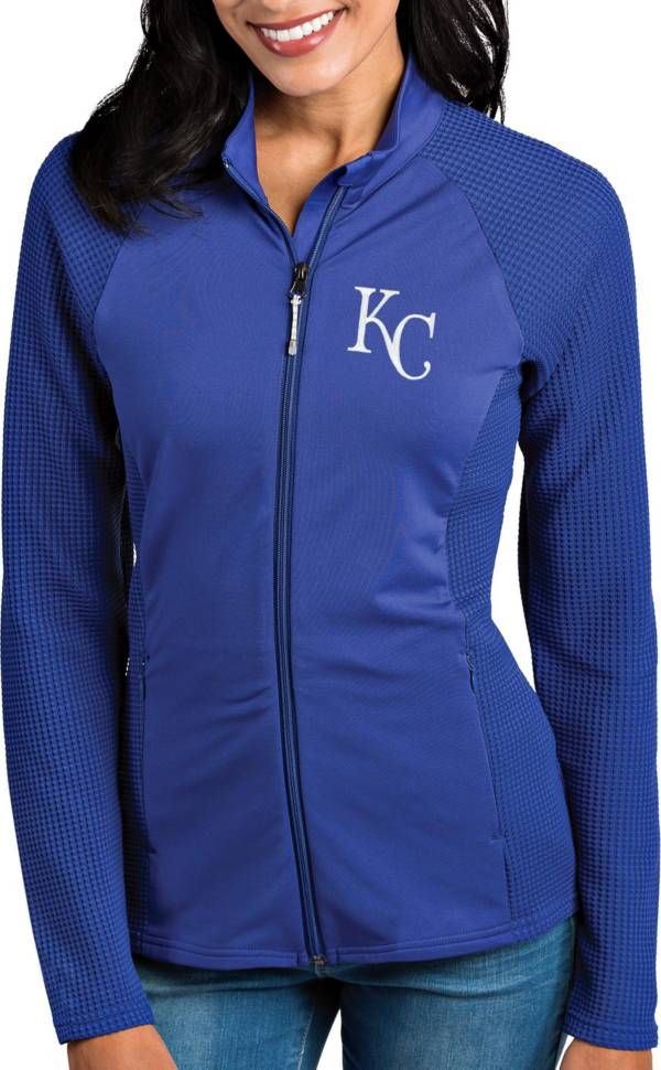 Antigua Women's Kansas City Royals Royal Sonar Performance Quarter-Zip Pullover product image