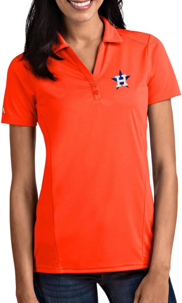 Antigua Women's Houston Astros Tribute Orange Performance Polo product image