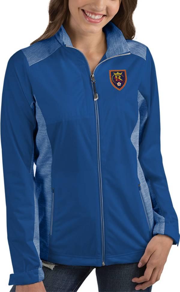 Antigua Women's Real Salt Lake Revolve Royal Full-Zip Jacket product image